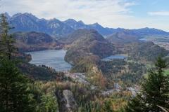 Hohenschwangau-mit-Alpsee-Schwansee-Weißensee